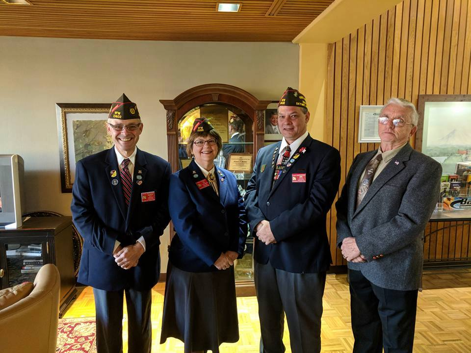 John Bradburn - VFW Department of Washington Commander, 